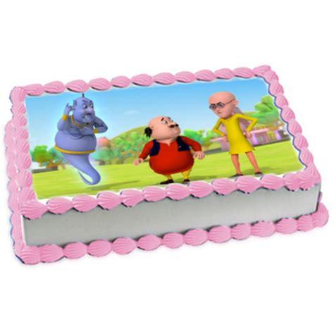 Motu Patlu Cake, Motu Patlu Cake Design   YummyCake