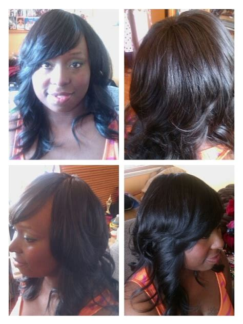 full head weaves styles full head weave with invisible part hairstyles
