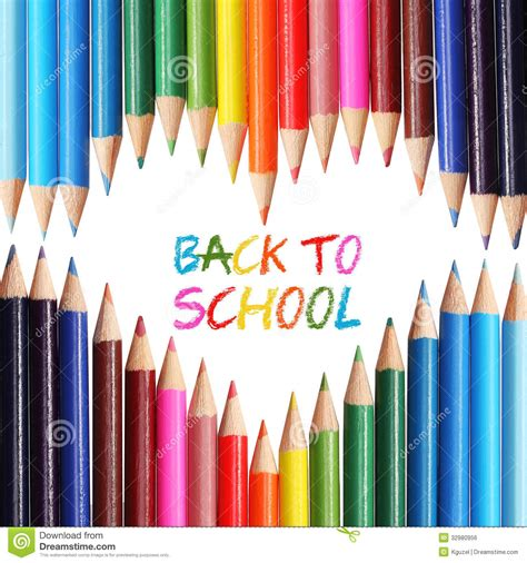 Colors Of Nature Pencil Kotak Pencsil Kulit back to school concept colorful pencils arranged as the words back to school written