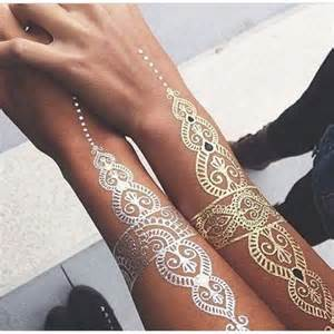 81 mesmerizing glossy metallic ink tattoo designs