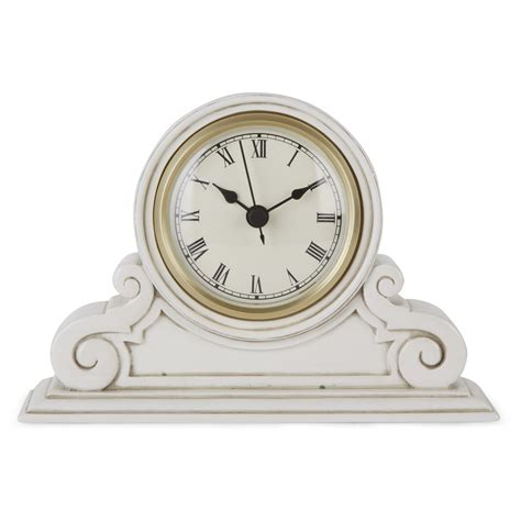 mantle clocks small curved mantle clock at