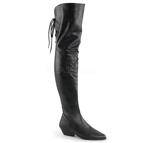 leather flat heeled hip boot shop wildside