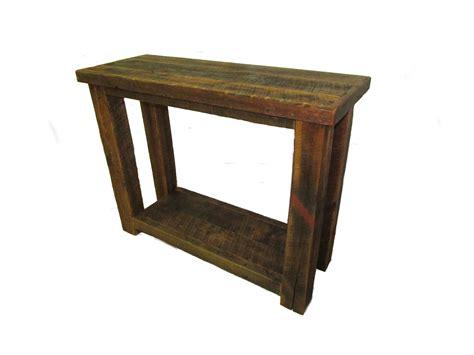 reclaimed barn wood table reclaimed barn wood sofa table white cedar barnwood