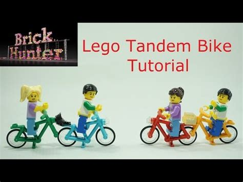 lego motorcycle tutorial how to build lego tandem bike tutorial youtube