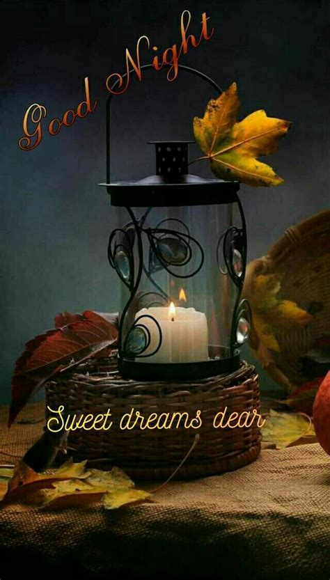 pin  vivi  good night autumn fall good night  good night blessings good night