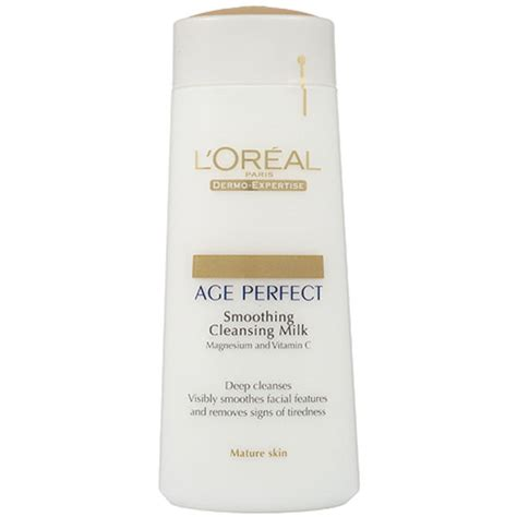 L Oreal Cleansing Milk l oreal dermo expertise age smoothing