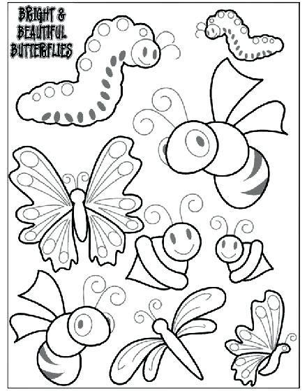 bugs coloring pages pdf insect coloring pages online page printable turtle