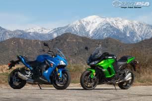 Superbike Suzuki 2016 Suzuki Gsx S1000f Vs Kawasaki 1000 Comparison
