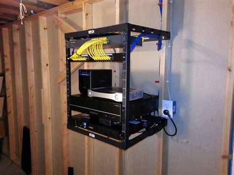 home server rack full build log  home