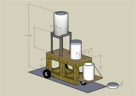 rack system plans home brewing