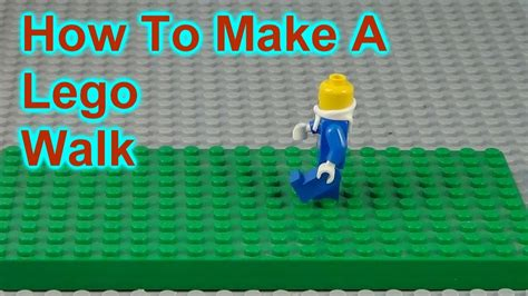 lego walking tutorial how to make a lego walk tutorial with stop motion