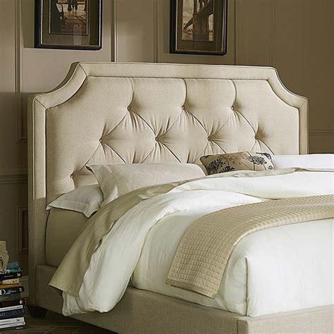 linen upholstered king headboard liberty furniture linen upholstered king sloped panel