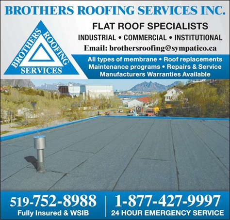 Brothers Roofing Brothers Roofing Services Brantford On 93 Kent Rd