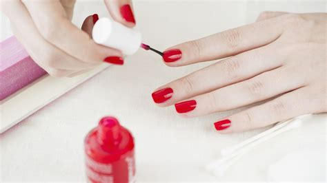how to master an at home manicure racked