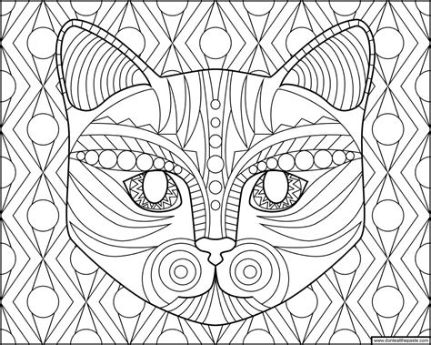 cat coloring sheets don t eat the paste cat coloring page