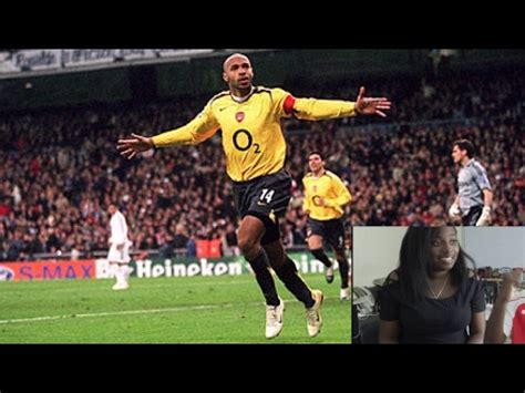 thierry henry best thierry henry best arsenal goals reaction
