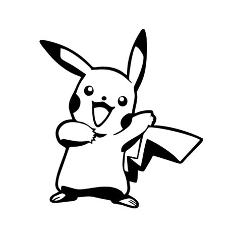 Stiker Laptop Pikachu Pb 01 popular pikachu vinyl sticker buy cheap pikachu vinyl