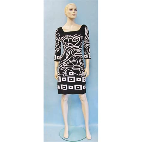 pattern dress black and white joseph ribkoff black and white pattern dress 30928 buy