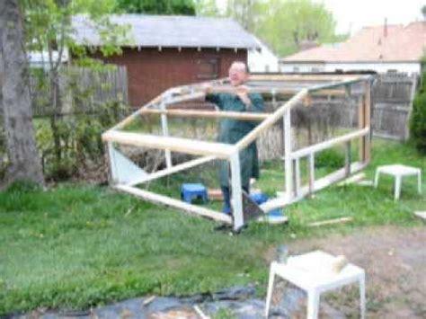 portable wooden framework   diy camper shell