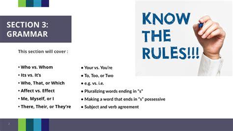 grammar section module 3 section 3 grammar 10 minutes peregrine