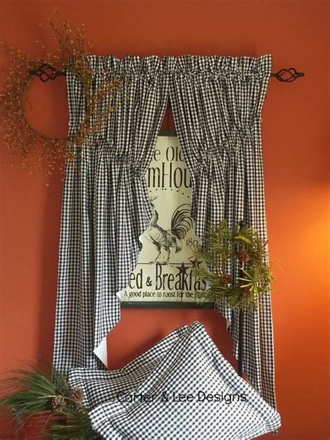 amish curtains pin by ramona lee on homespun lined amish prairie swag