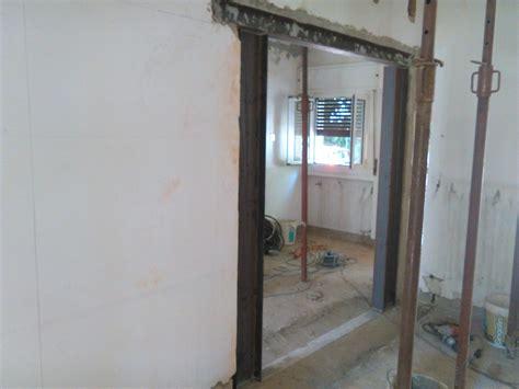 apertura porta in muro portante foto ristrutturazione totale apertura in muro portante