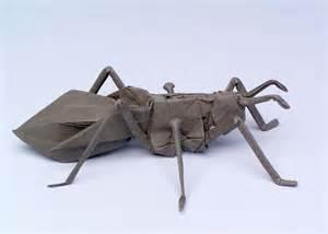 Robert Lang Origami - robert j lang gt origami model gt paper wasp opus 76