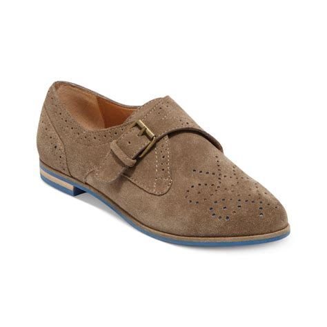 dolce vita oxford shoes dolce vita mello monk oxford flats in brown taupe