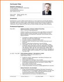 A Professional Curriculum Vitae by 8 How To Write A Professional Curriculum Vitae Bussines