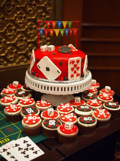 themed birthday cupcakes a casino royale celebration with family