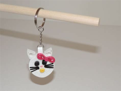 How To Make A Keychain With Paper - 82 best images about paper quilling key chains on