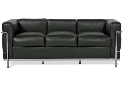 canap駸 cassina lc2 canap 232 3 places cassina milia shop