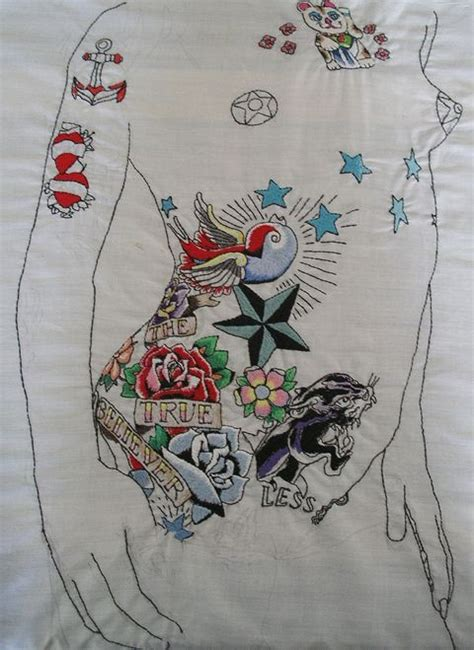 embroidery tattoo 10 best ideas about embroidery on