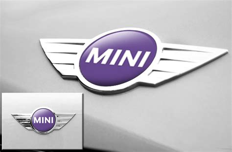 Tempelan Emblem Badge Mini mini cooper vinyl emblem graphics for front and back of vehicle