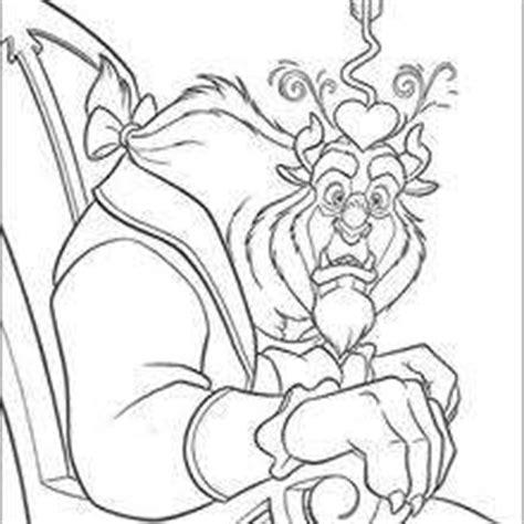 beauty and the beast characters coloring pages siudynet verliebtes biest zum ausmalen de hellokids com