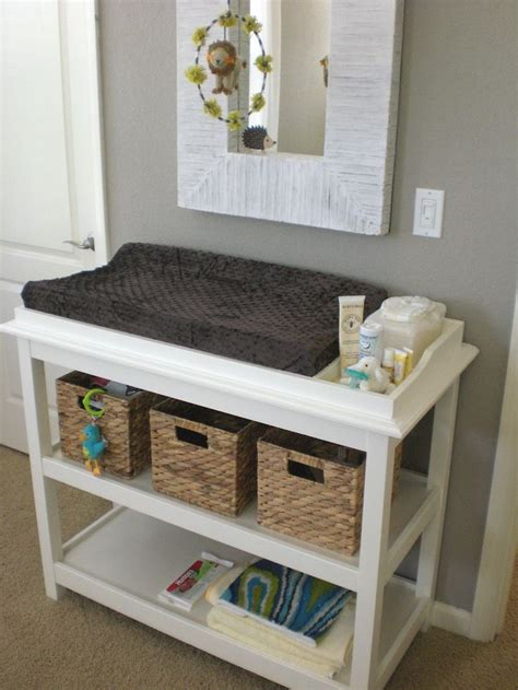 Changing Table Alternatives 17 Best Ideas About Changing Table Storage On Changing Station Changing Tables And