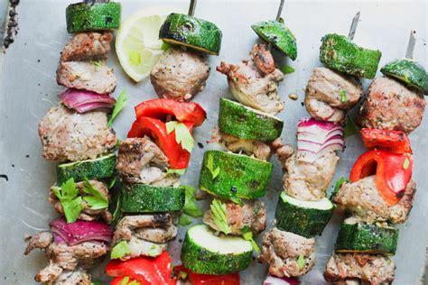 barbecued greek lamb kebabs for 10 recipe 9kitchen grilled greek lamb skewers what great grandma ate