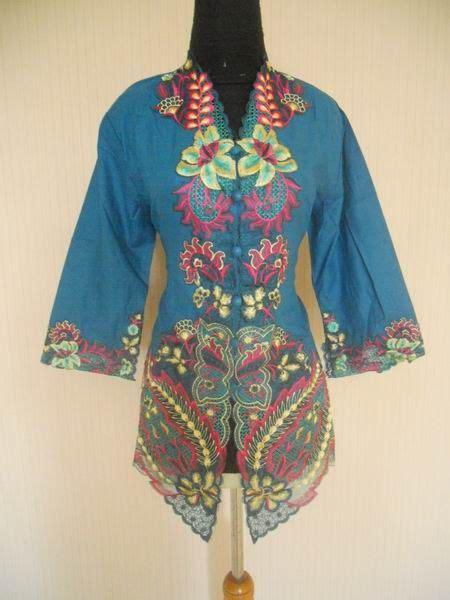 kebaya modifikasi elegan ragam modifikasi model baju kebaya bordir yang elegan