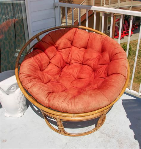 papasan cushion slipcover papasan chair cover diy crafts