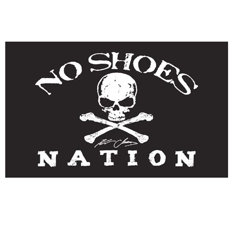 Kenny Grommet by Kenny Chesney No Shoes Nation Black Flag 3 X 5 Large