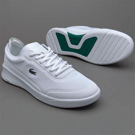 Sepatu Merk Lacoste sepatu sneakers lacoste lt spirit elite white