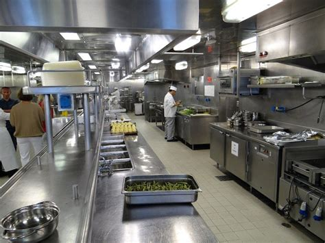 Cold Section In Kitchen by Silversea Kitchen Galley Tour And Insights On Silver