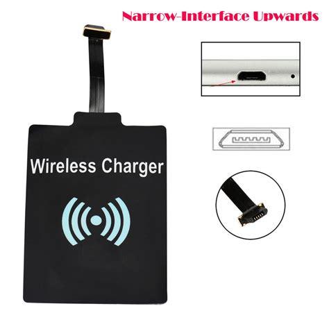 Wireless Charger Micro mosunx universal qi wireless charging receiver charger module for micro usb cell phone ljj0112