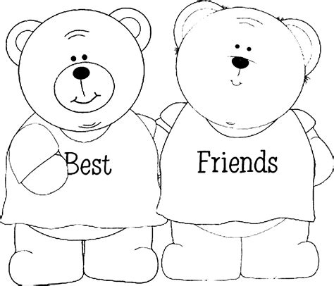 coloring pages with friends best friends coloring pages 27925 bestofcoloring com