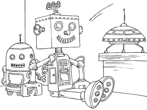 preschool robot coloring pages 13 coloring pages of robot print color craft
