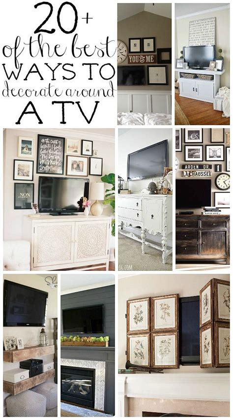 Tv Wall Decor Ideas by 25 Best Ideas About Pictures Around Tv On