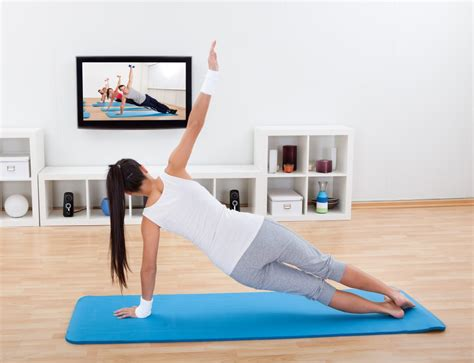get active in your own home with our home workouts