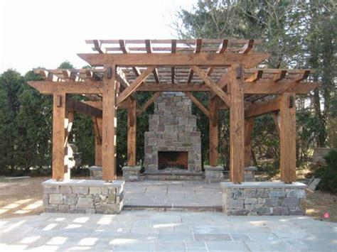 timber frame pergola google search house design