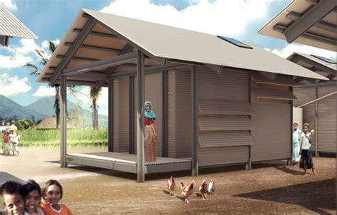 Small Home Repair Costs Recycled Plastic Nevhouses Provide Cheap Housing And
