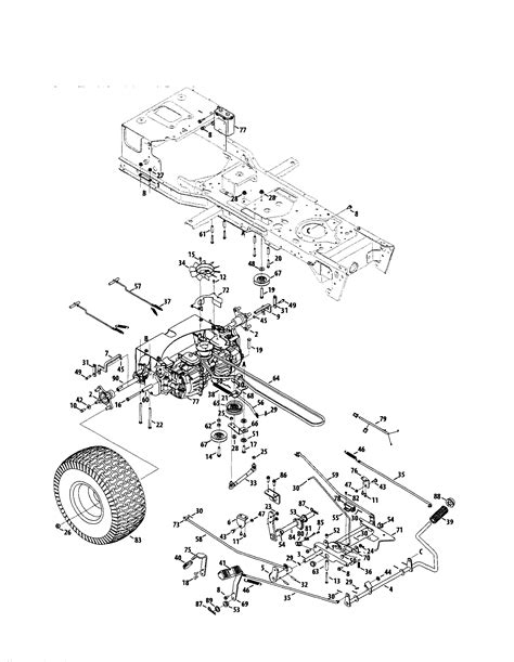 zero turn mower parts diagram craftsman zero turn mower parts model 247289330